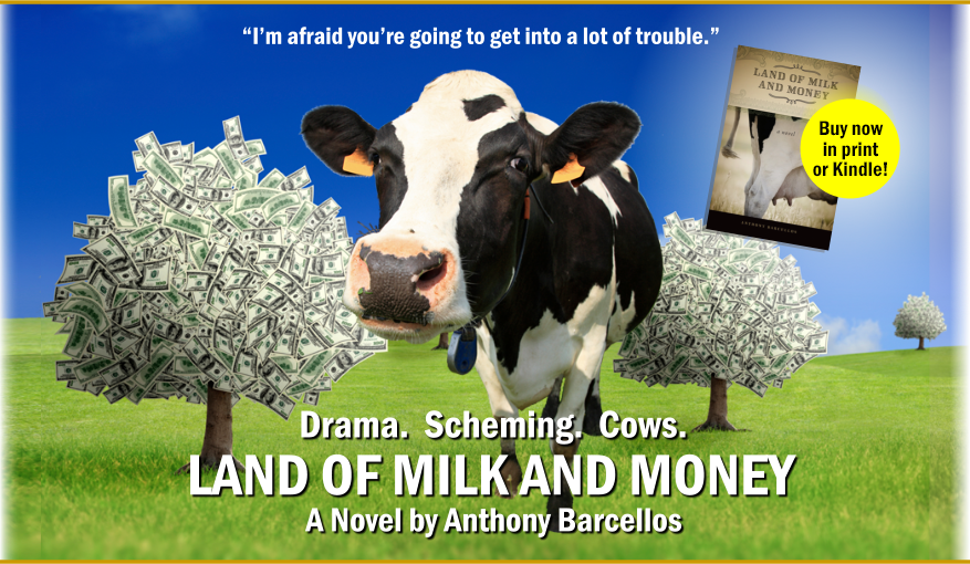 Land of Milk and Money, now available!